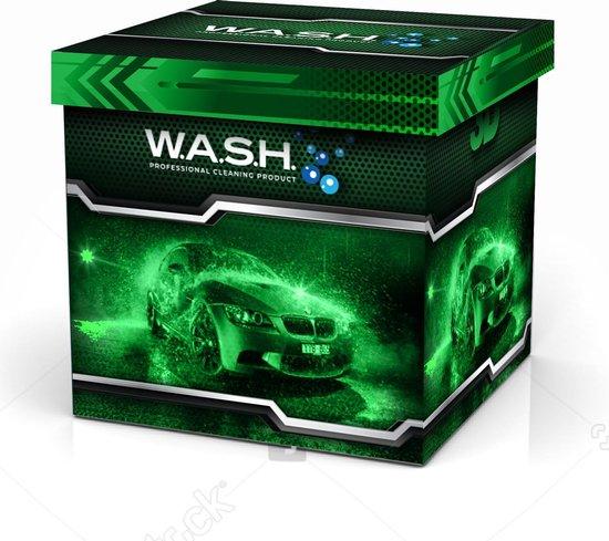 W.A.S.H. AUTOWASSEN MYSTERY KADO BOX - ter waarde van Euro 25,00 - voor de autoliefhebber