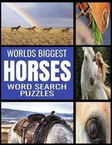 Worlds Biggest Horse Word Search Puzzles