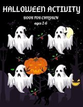 Halloween Activity Book for Children Ages 2-6