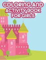 Coloring And Activity Book For Girls