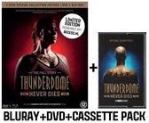 Thunderdome Never Dies Combipack (Dvd+Bluray+Cassette)