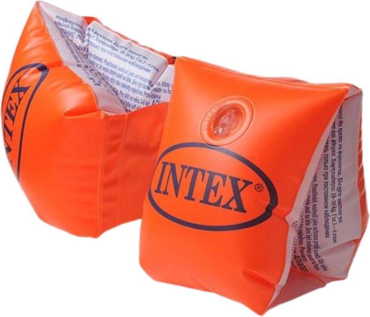 Intex Zwembandjes - Large - Oranje - Deluxe - Zwemvleugels - Baby - 1 jaar - 6-12 jaar - Veiligheid - Zwemmen