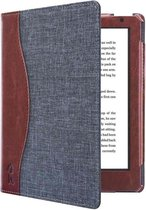 Hoesjes Boetiek - Sleepcover voor Kobo Aura H20 Edition 2 - Jeans Style Blauw