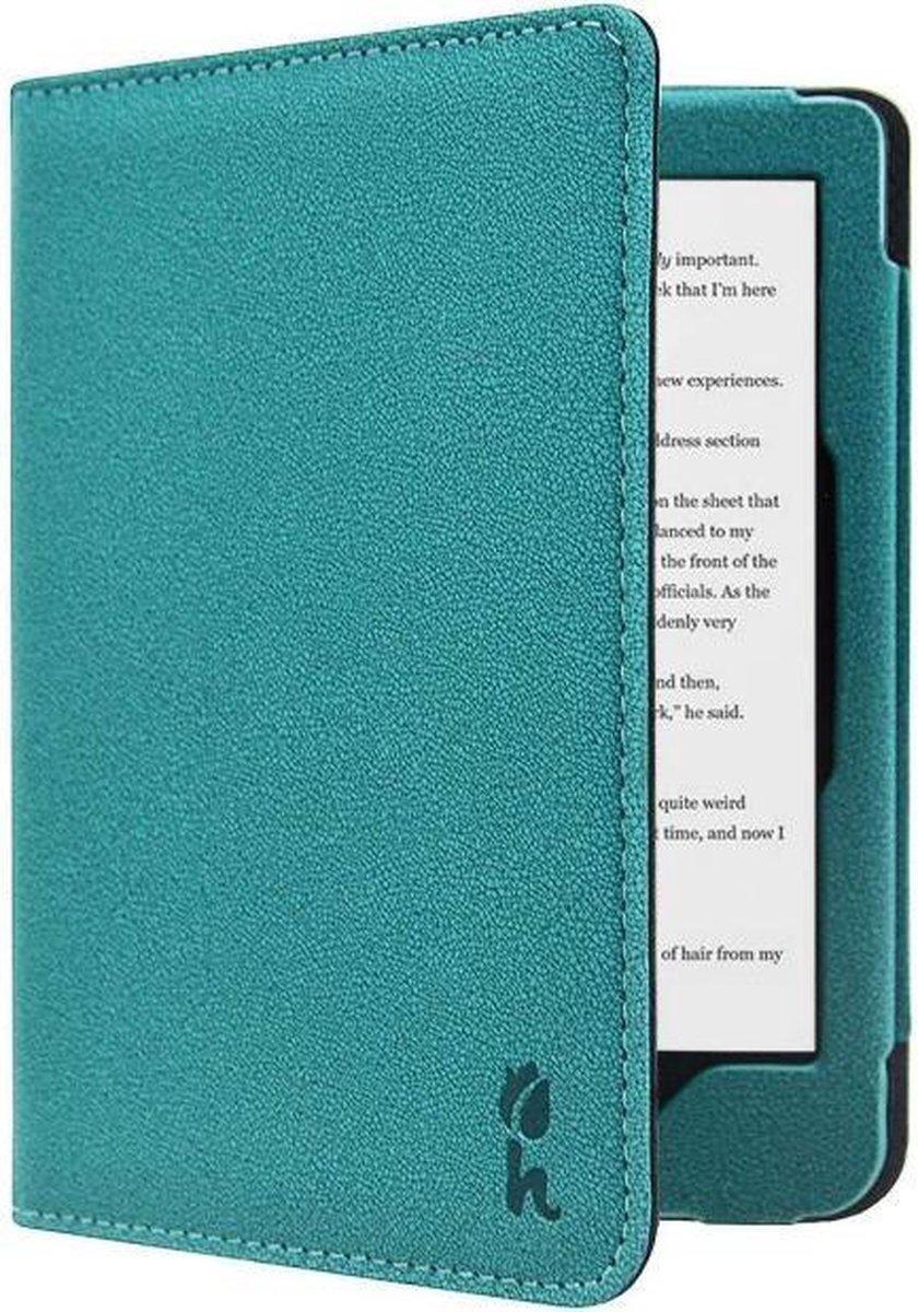 Soft Premium SleepCover voor Kobo Clara HD - Petroleum Blauw