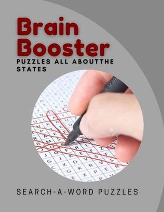 Brain Booster Puzzles All About The States Search-A-Word Puzzles