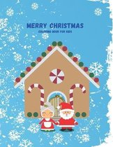 Merry Christmas Coloring Book For Kids