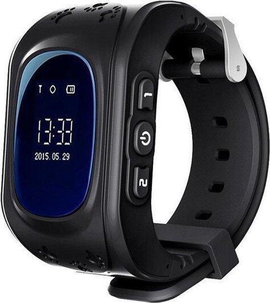 Kinder Smartwatch - Zwart - GPS - kinderen - Smartwatches - Gps tracker - Inclusief simkaart
