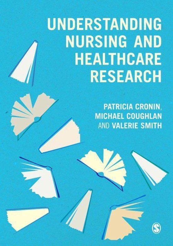 Boek cover Understanding Nursing and Healthcare Research van Patricia Cronin (Onbekend)