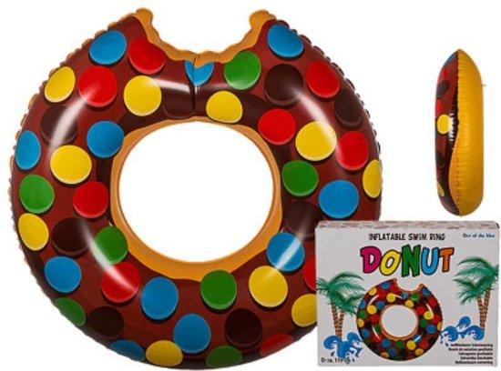 Opblaasbare zwemring, Bruine Donut