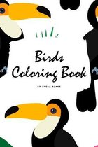 Birds Coloring Book for Children (6x9 Coloring Book / Activity Book)