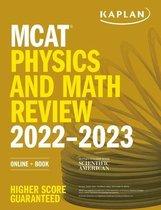Boek cover MCAT Physics and Math Review 2022-2023 van Kaplan Test Prep