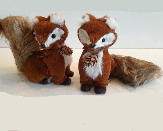 vosjes voor de kinderkamer in herfst thema