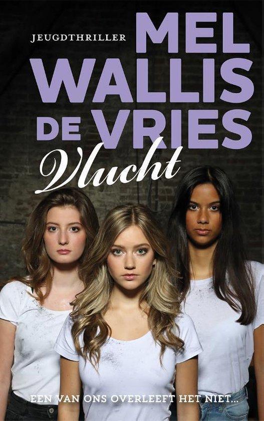 Boek cover Vlucht van Mel Wallis de Vries (Hardcover)