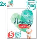 Pampers Harmonie / Pure Nappy Pants Maat 5 (12-17kg) 100 Luierbroekjes