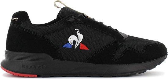 Le Coq Sportif Omega X Tech - Heren Sneakers Sport Casual Schoenen Zwart 1921497 - Maat EU 44 UK 9.5