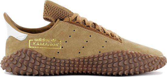 adidas Originals Kamanda 01 - Sneakers Sport Casual Schoenen Leer Bruin B96522 - Maat EU 36 UK 3.5