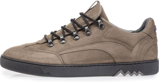 Floris van Bommel Mannen Sneakers -  16464 - Grijs - Maat 46