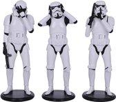 Three Wise Stormtroopers - Originele Stormtrooper Figuren 3 Stuks