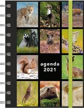 Afbeelding van Hobbit Agenda Spiraal A6 Natuur 2021