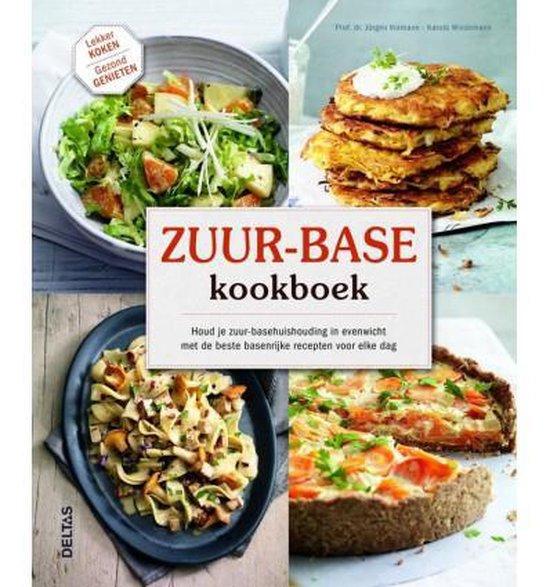 Boek cover Zuur-base kookboek van Jurgen Vormann (Hardcover)