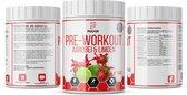 Pulvernutrition Original Pre-workout - 30 doseringen - Aardbei & Limoen - Pump - Energie - Nieuwe smaak - C4 - V2