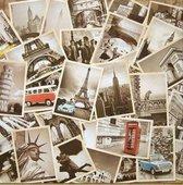 Kaarten set Old Travel-32 vintage ansichtkaarten