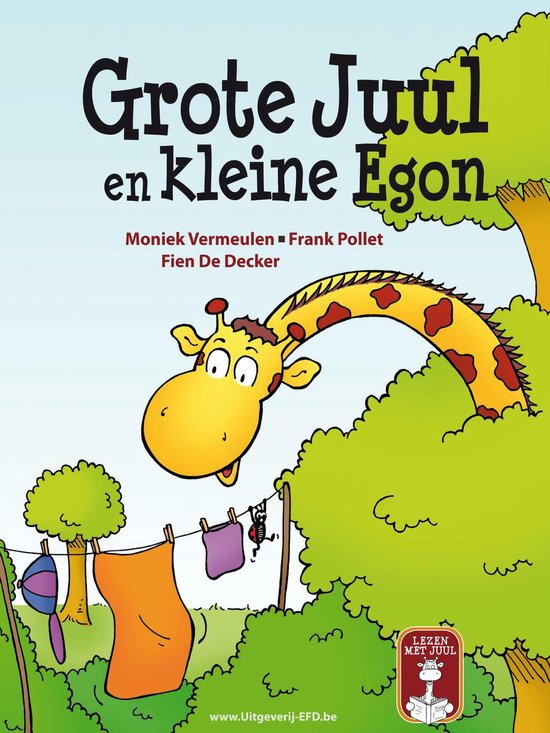 Boek cover Grote Juul En Kleine Egon van Moniek Vermeulen (Hardcover)