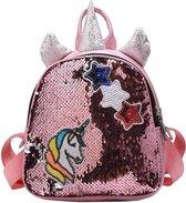 Schooltas Meisje - Unicorn - Eenhoorn - Glitter - Rugzak Meisje - Prinsessenjurk Meisje - Paarden - Speelgoed Meisje - My Little Pony