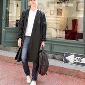 Regenjas zwart (Maat XL) unisex - licht gewicht -