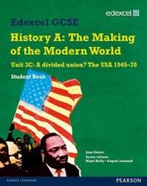 Boek cover Edexcel GCSE Modern World History Unit 3C A divided Union? The USA 1945-70 Student Book van Jane Shuter