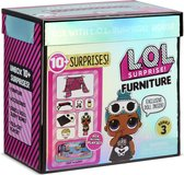 L.O.L. Surprise! Furniture - Logeerpartijtje met Sleepy Bones - Serie 3