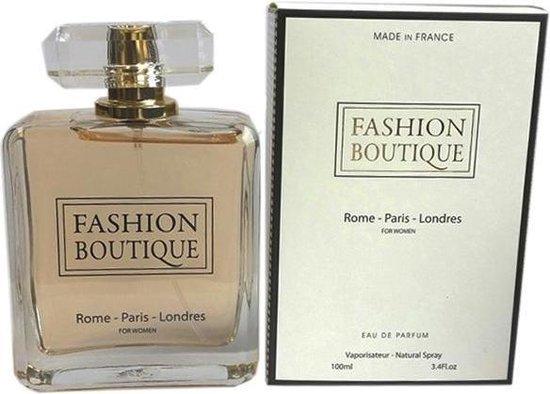 Fashion Boutique van Rose of Bulgaria,  Eau de Parfum 100 ml (Kruidige geur met Bergamot, Jasmijn en Amber)
