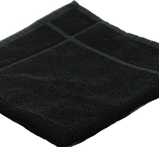 Clarysse Keukendoek Zwart 50x50 cm - 12 stuks