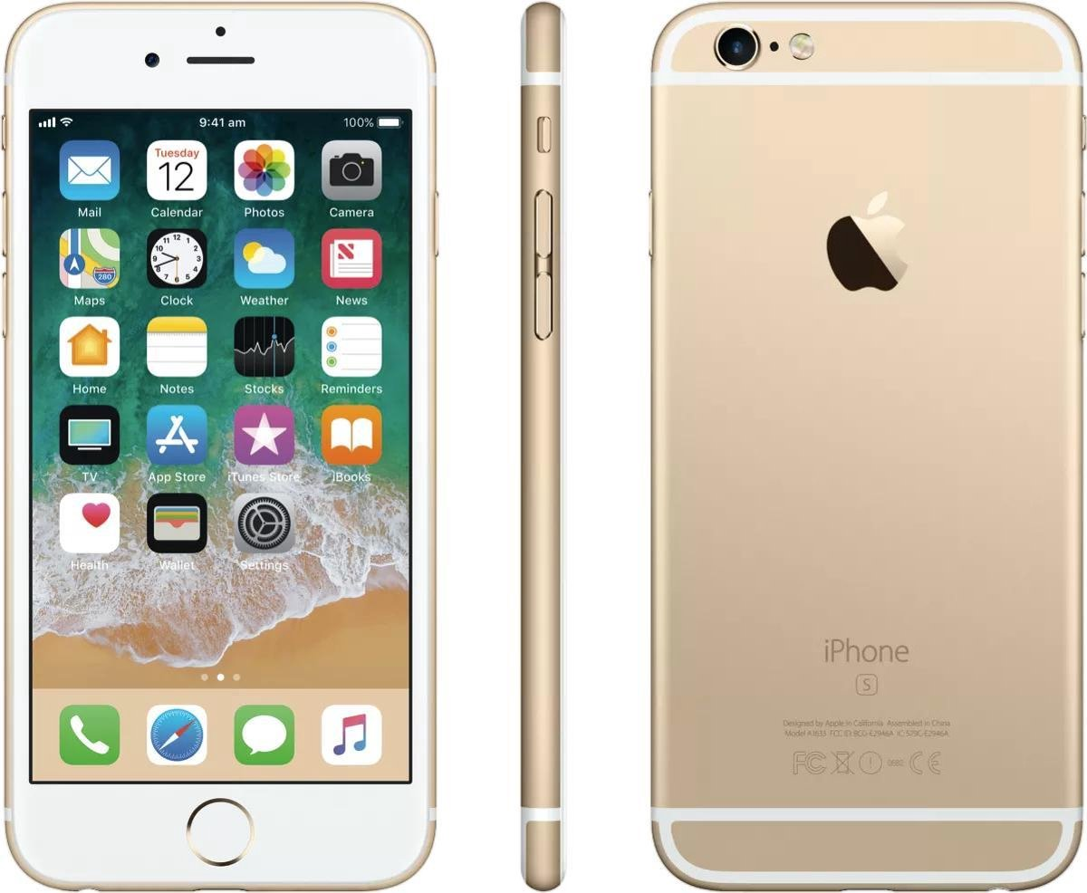 Apple iPhone 6s - Alloccaz Refurbished - A grade (Zo goed als nieuw) - 32GB - Goud