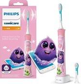 Philips Sonicare For Kids HX6352/42 - Elektrische tandenborstel - roze