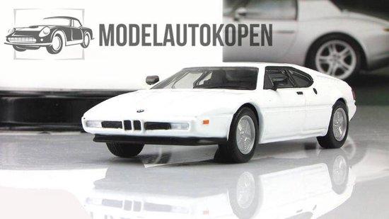 BMW 1 Series (Wit) 1/43 Magazine models - Modelauto - Schaalmodel - Model auto - Miniatuurautos - Miniatuur auto