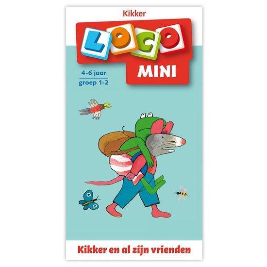 Boek cover Loco Mini  -   Loco mini Kikker en vrienden van  (Paperback)