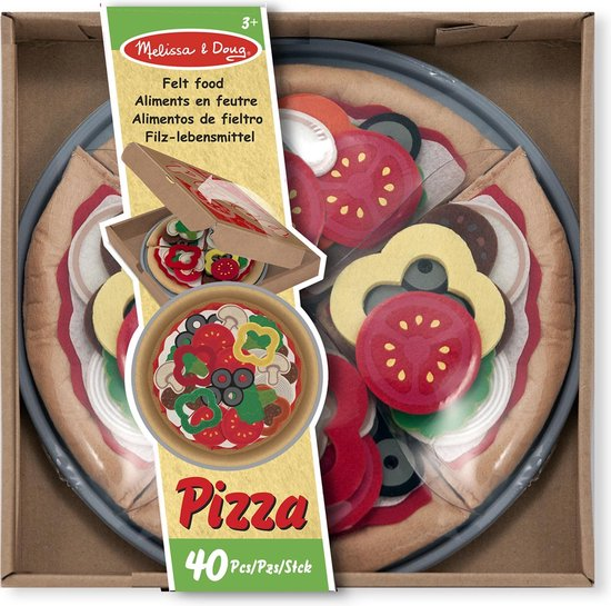 Melissa & Doug Speelset Eten Vilten Pizza