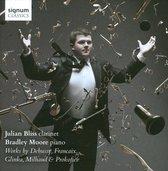 Bliss Julian / Moore Bradley - Works By Debussy Milhaud Glinka