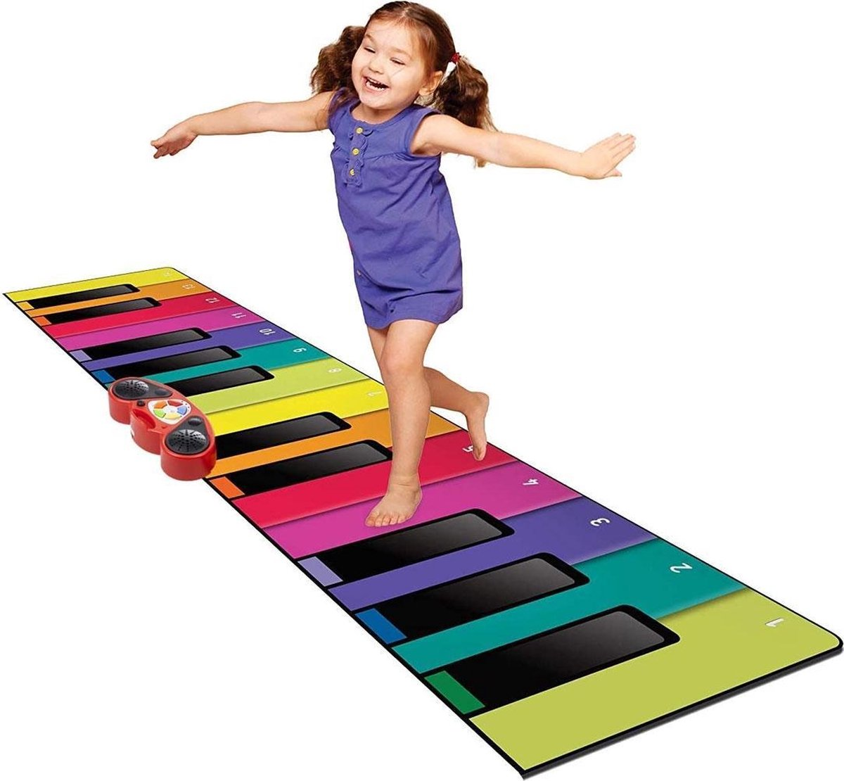 N-Gear Piano Dance Mat XXL - 180CM - Multicolor