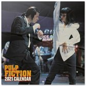 Pulp Fiction kalender 2021 Tarantino formaat 30 x 30 cm.