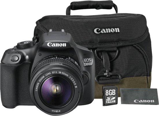 Canon EOS 1300D + 18-55mm III