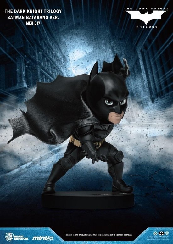 DC Comics Mini Egg Attack: Dark Knight Trilogy - Batman with Batarang