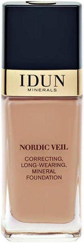 Idun Minerals Foundation – Vloeibare Foundation Ylva – Medium Donker Neutraal
