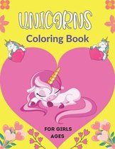 UNICORNS Coloring Book For Girls Ages