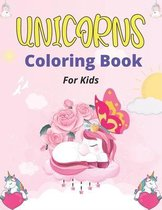 UNICORNS Coloring Book For Kids