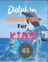 45 Dolphin Coloring Pages For Kids