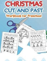Christmas Cut and Paste Workbook for Preschool