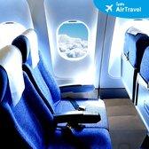 Vliegtuigbedje - 3 hoogtestanden - Reiskussen - Slapen in het vliegtuig - Kinderbedje - Voetensteun - Opblaasbaar - Grijs - Vliegkussen - Voetsteun - Voet bankje - Voetsteun - Relax steun - Reiskussen - Reisbed - Voet kussen- KLM Approved