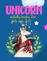 Unicorn Activity Books For Girls Ages 3-5